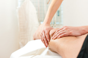 Manual lymphatic drainage for treatment of Lymphoedema